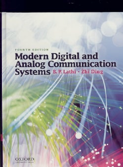 Modern Digital and Analog Communication Systems (Hardcover)
