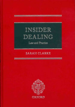 Insider Dealing: Law and Practice (Hardcover)