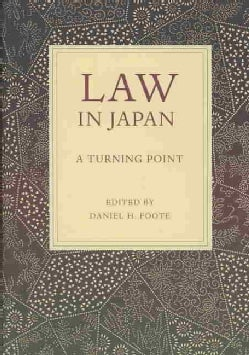 Law in Japan: A Turning Point (Hardcover)