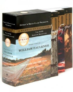 A Summer of Faulkner: As I Lay Dying/ The Sound and the Fury/ Light in August (Paperback)