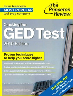 The Princeton Review Cracking the GED Test 2015: With 2 Practice Tests (Paperback)
