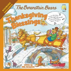 The Berenstain Bears Thanksgiving Blessings (Paperback)