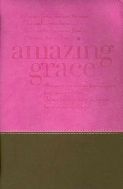 Amazing Grace Italian Duo-tone Orchid/Chocolate Large: Book & Bible Accessory / Case & Cover / General (General merchandise)