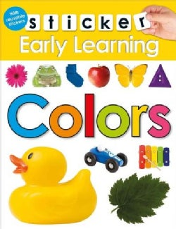Sticker Early Learning Colors (Paperback)