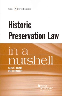 Historic Preservation in a Nutshell (Paperback)