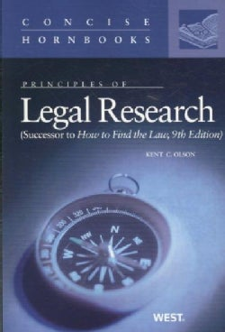 Principles of Legal Research (Paperback)