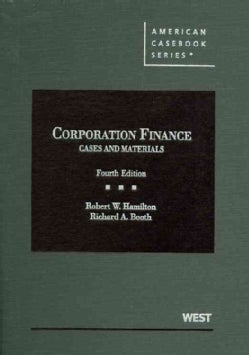 Corporation Finance: Cases and Materials (Hardcover)
