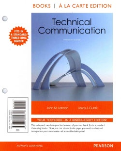 Technical Communication (Other book format)
