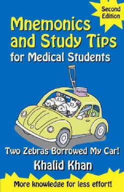 Mnemonics and Study Tips for Medical Students: Two Zebras Borrowed My Car (Paperback)