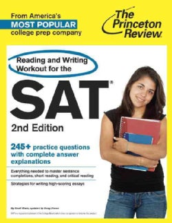 The Princeton Review Reading and Writing Workout for the SAT (Paperback)