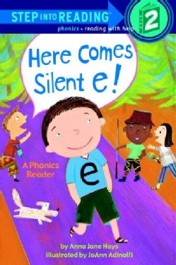 Here Comes Silent E!: A Phonics Reader (Paperback)