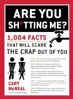 Are You Sh*tting Me?: 1,004 Facts That Will Scare the Sh*t Out of You (Paperback)