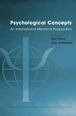 Psychological Concepts: An International Historical Perspective (Paperback)