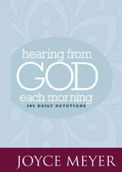 Hearing from God Each Morning: 365 Daily Devotions (Hardcover)