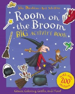 Room on the Broom Big Activity Book (Paperback)