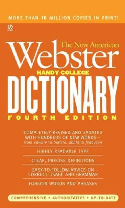 The New American Webster Handy College Dictionary (Paperback)