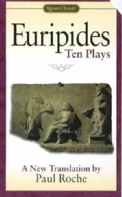Euripides: 10 Plays (Paperback)