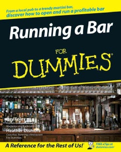 Running a Bar for Dummies (Paperback)