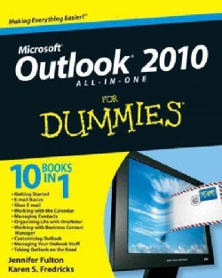 Outlook 2010 All-in-One For Dummies (Paperback)