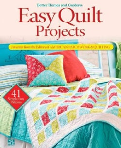 Easy Quilt Projects: Favorites from the Editors of American Patchwork & Quilting (Paperback)