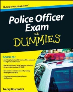 Police Officer Exam for Dummies (Paperback)