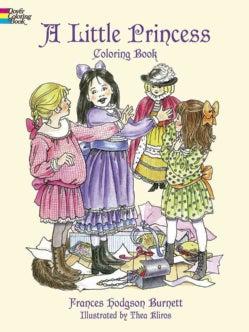 A Little Princess Coloring Book (Paperback)