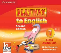 Playway to English Level 1 Class Audio (Compact Disc)