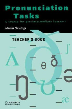 Pronunciation Tasks: A Course For Pre-intermediate Learners (Paperback)