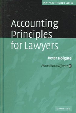 Accounting Principles for Lawyers (Hardcover)