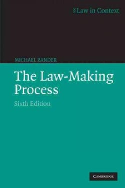 The Law-Making Process (Paperback)