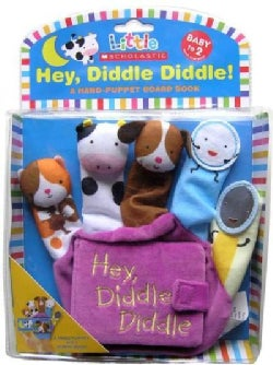 Hey Diddle Diddle: A Hand-Puppet Board Book (Board book)