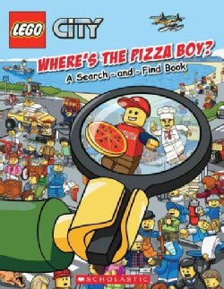 Where's The Pizza Boy?: A Search-and-Find Book (Paperback)