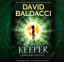The Keeper: Freedom Begins with Survival: Library Edition (CD-Audio)