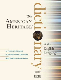 The American Heritage Dictionary of the English Language (Hardcover)