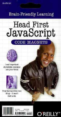 Head First Javascript Code Magnet: Brain-friendly Learning (Paperback)