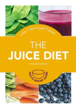 The Juice Diet: Lose 7 Lbs in Just 7 Days! (Paperback)