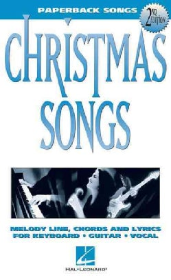 Christmas Songs: Melody Line, Chords and Lyrics for Keyboard, Guitar, Vocal (Paperback)