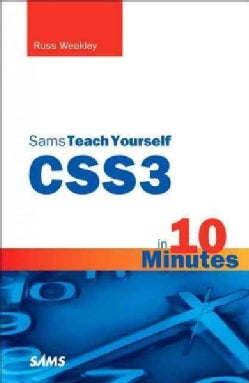 Sams Teach Yourself Css3 in 10 Minutes (Paperback)