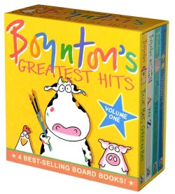 Boynton&#39;s Greatest Hits: Mo, Baa, La La La!/A to Z/doggies/bluehat, Green Hat (Board book)