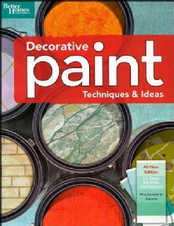 Decorative Paint Techniques & Ideas (Paperback)