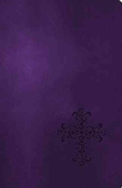 The Holy Bible: New King James Version, Rich Royal Purple, Leathersoft, Personal Size, Giant Print, Reference Edi... (Paperback)