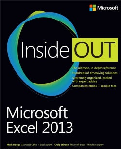 Microsoft Excel 2013 Inside Out (Paperback)