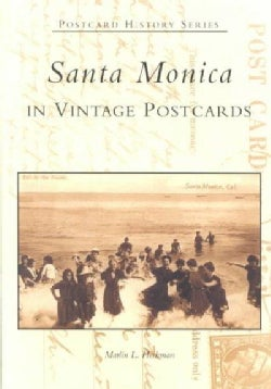 Santa Monica in Vintage Postcards (Paperback)