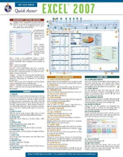 Excel 2007: Rea Quick Access Reference Chart (Wallchart)