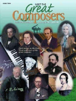 Meet the Great Composers Book 1 And Book 2 (Paperback)