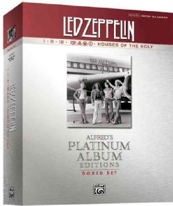 Led Zeppelin I-V Platinum Guitar: Authentic Guitar Tab (Paperback)