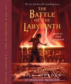 The Battle of the Labyrinth (CD-Audio)