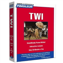 Pimsleur Twi: Hear it, Learn it, Speak it (CD-Audio)
