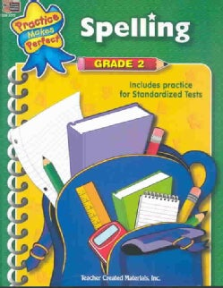 Practice Makes Perfect: Spelling Grade 2 (Paperback)
