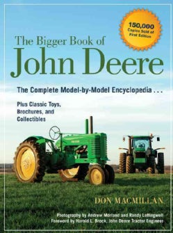 The Bigger Book of John Deere: The Complete Model-by-model Encyclopedia Plus Classic Toys, Brochures, and Collect... (Paperback)